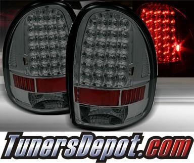 td led tail lights smoke 98 03 dodge durango alt on dc96 led sm. Black Bedroom Furniture Sets. Home Design Ideas